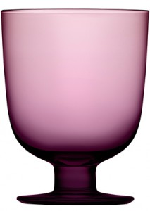 Lempi glass 34 cl dark lilac
