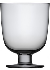 Lempi glass 34 cl grey